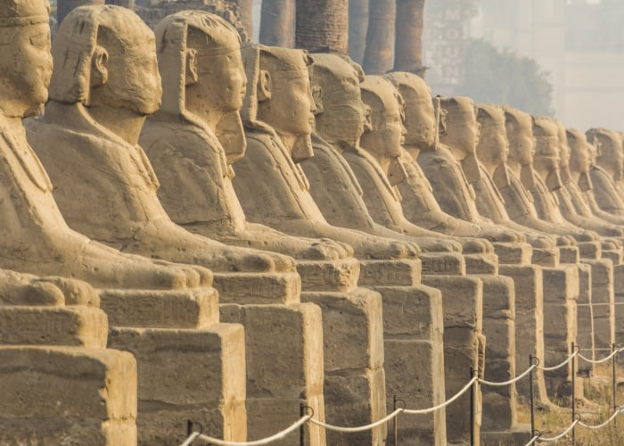 S_Avenue of the Sphinxes, Luxor